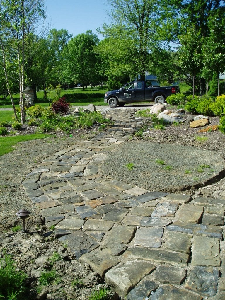 You can view the reclaimed wallstone with Bluestone Cobblestone.