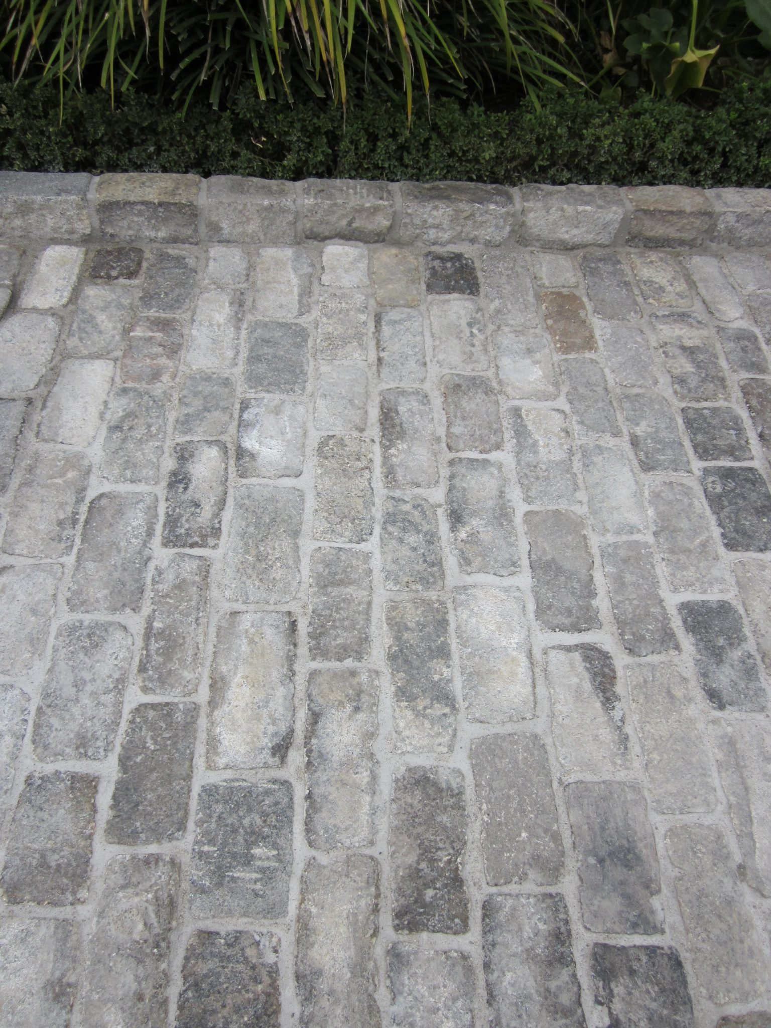 You can view all the different of Salt and Pepper Cobblestone, that blend perfectly.