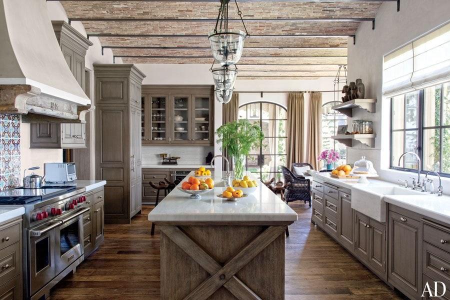 Beautiful kitchen with brady-ceiling