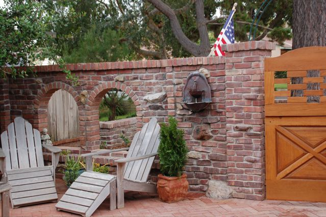 How To Build A Brick Patio Reclaimed Patio Pavers