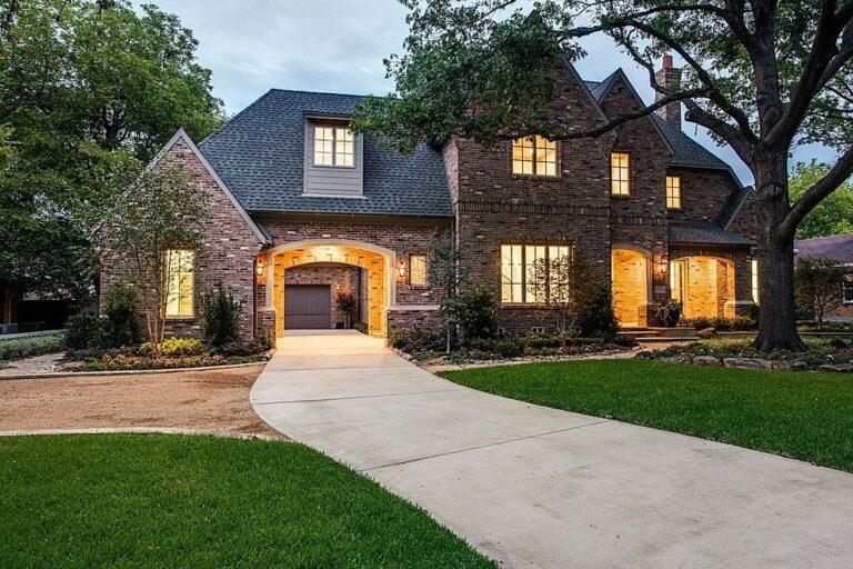 Brewery Brick | House w/ Driveway