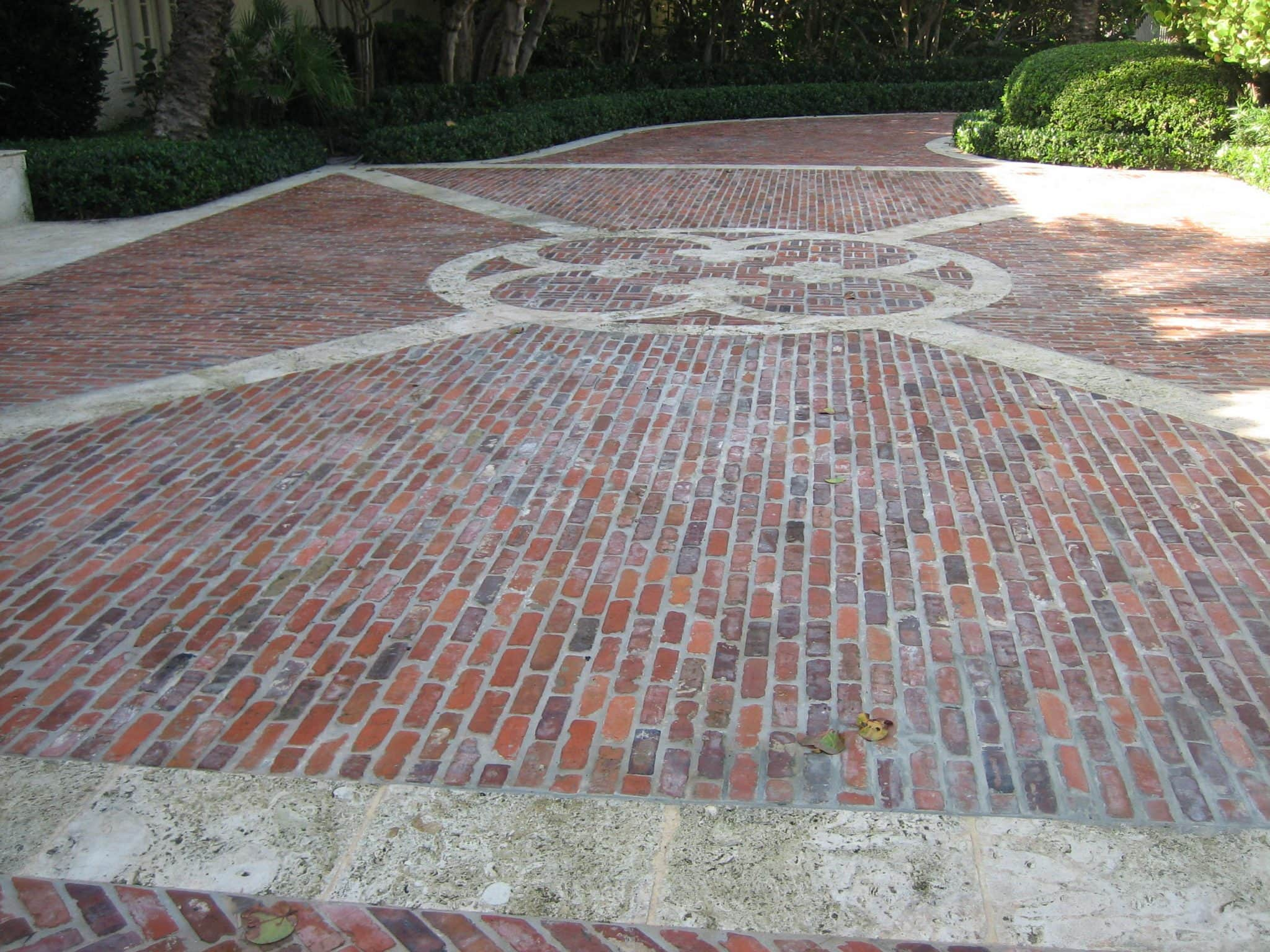 salvaged antique brick pavers for driveways and patios