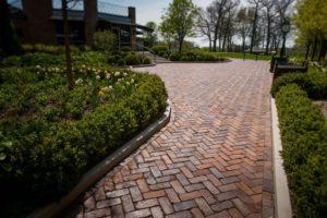 Brick Landscaping Ideas Old Paving Bricks Historical Bricks
