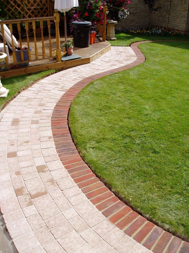 Yard Landscaping with Brick Pavers | Reclaimed Pavers on Backyard Brick Pavers id=74861