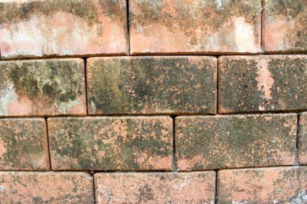 closeup of Reclaimed Brick