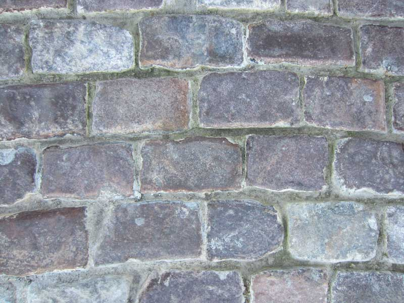 closeup view of our genuine cobblestone used on a paving project