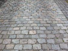 Antique European Porphyry Cobbles | Close-Up