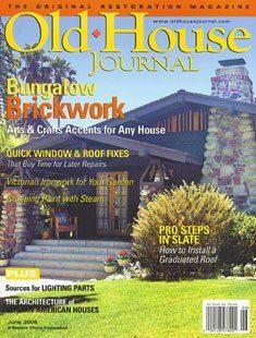 Old House Journal Bungalow Brickwork