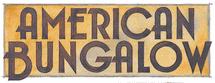 American Bungalow Logo