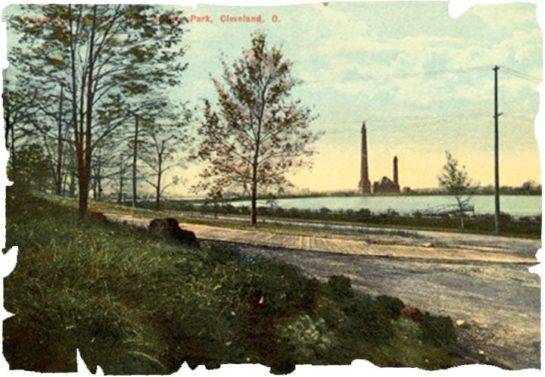 historic image of Baldwin reservoir which is where a lot of reclaimed reservoir stone originated from