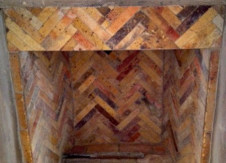 Reclaimed Antique Firebrick   Interior Chimney