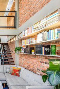 Antique Warehouse Red Brick Veneer | Interior