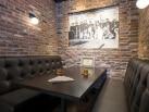 Brewery Brick   Restaurant Booth