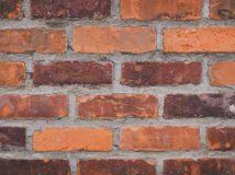Historical Bricks Antique Warehouse Reds Close Up Photo Brick Pattern Detail Visible