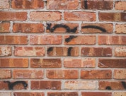 Historical Bricks Antique Chicago Bricks Full Wall Section with Graffiti