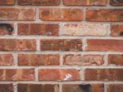 Historical Bricks Antique Chicago Bricks Photo of Wall Section with Graffiti Markings