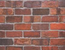 Antique Purington Paver brick wall sample