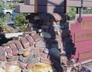 Old Pasadena Clinker | Pillar Close-Up