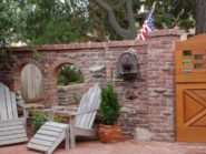 Old Pasadena Clinkers | Brick Patio