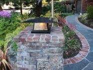 Old Pasadena Clinkers | Entrance Pillar