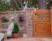 Old Pasadena Clinker | Patio Entrance