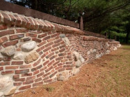 Old Pasadena Clinkers | Fence Wall