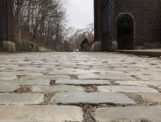 Bluestone Cobbles and Belgian Block Photo from Ground Level