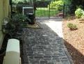 Old English Cobblestone   Backyard Walkway