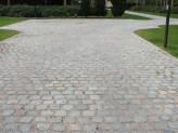 Antique European Porphyry Cobbles   Driveway