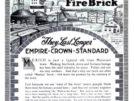 Old newspaper ad advertising A.P. Green High Grade Missouri Fire Bricks