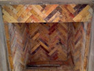 Reclaimed Antique Firebrick | Interior Chimney