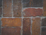 Antique Purington Flat Street Pavers Pattern Close Up