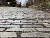 Bluestone Cobbles and Belgian Block Close Up Photo of Bricks
