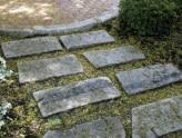 Reclaimed granite Curbing