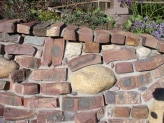 Old Pasadena Clinkers | Garden Wall