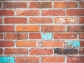 Antique Brewery Bricks - Smooth Mortar shown above and Rustic Mortar shown below