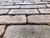 Antique Mack Pavers Close Up Photo of Paving Different Angle