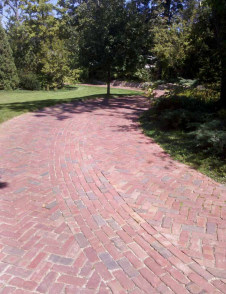 Historical-Bricks-Project-Ideas-Brick-Driveway-Wilmetter-IL-Purington install